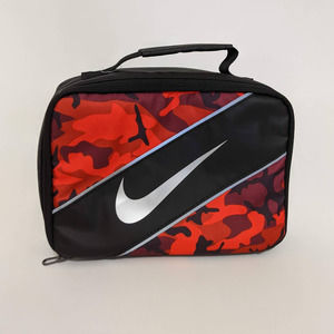 Nike Red Crush Insulated Zippered Lunch Box